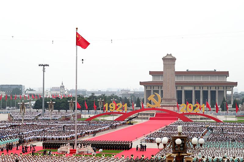 """乘风破浪开新局——以习近平同志为核心的党中央引领""""十四五""""稳健开局纪实"""